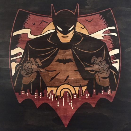 Retro Batman 24x24